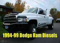 1994-99 Dodge Ram Diesel / Rusted and Leaking Fuel sending Unit Lines / New Heavy Duty Fuel Line Insert Repair Kit