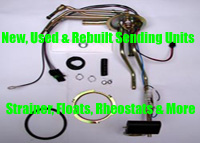New, Used and Rebuilt Fuel Sending Units, Strainers, Floats, Rheostats, Level Sensors, Wiring Harnesses  and More
